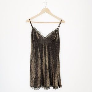 Victoria's Secret Shimmer Tank Slip Dress
